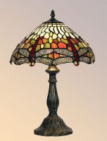 Dragonfly 300mm Tiffany Table Lamp