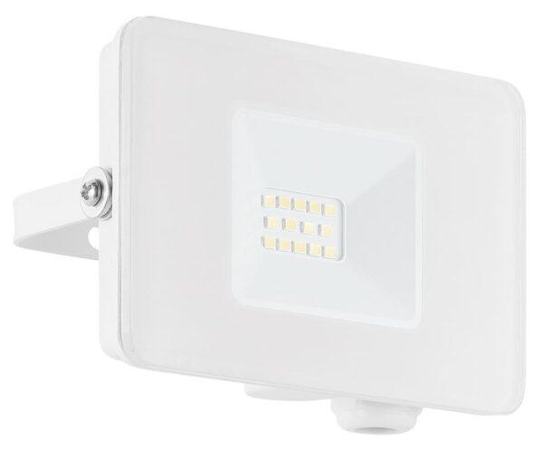 Eglo Faedo 4 White 10w LED Outdoor Security Floodlight IP65