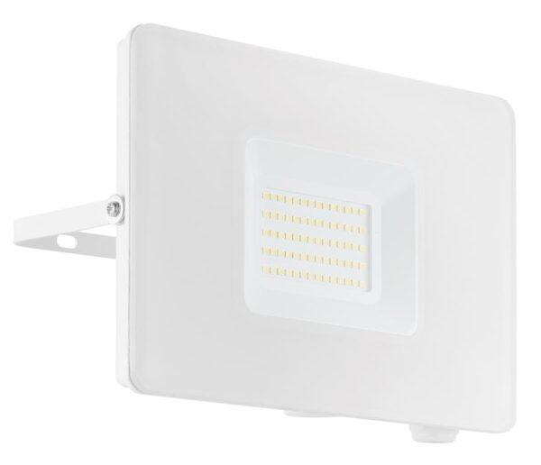 Eglo Faedo 4 White 50w LED Outdoor Security Floodlight IP65