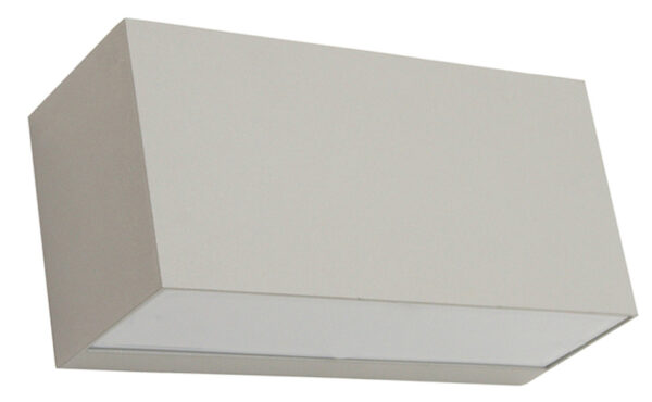 Norlys Asker Up & Down Outdoor Wall Light Box Aluminium IP54