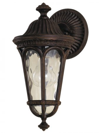 Feiss Regents Park Small Walnut Outdoor Wall Lantern