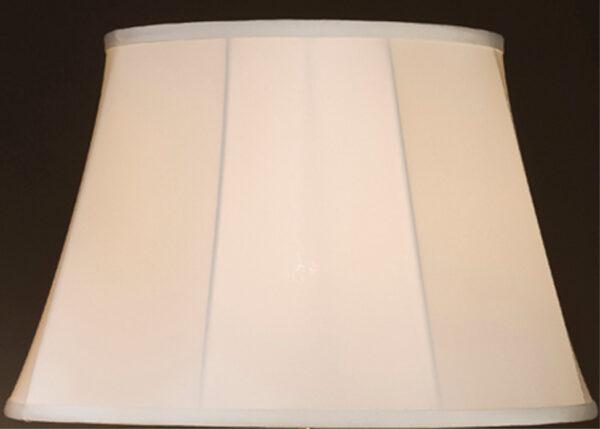 White 18 inch Empire Lamp Shade