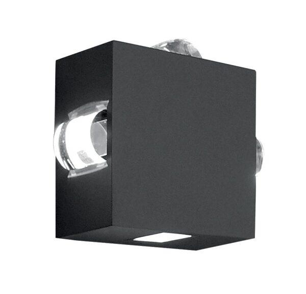 Elstead Agner 4 Light LED Outdoor Wall Light Graphite IP54