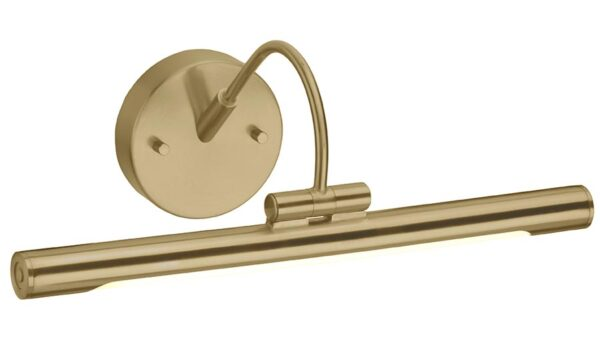 Elstead Alton Small LED Picture Light Brushed Brass