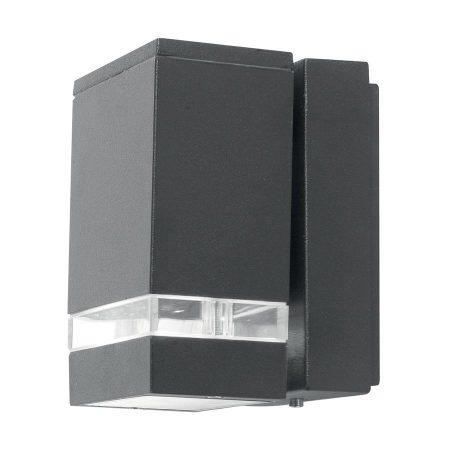 Elstead Jannik 1 Light LED Outdoor Wall Down Light Dark Grey IP44