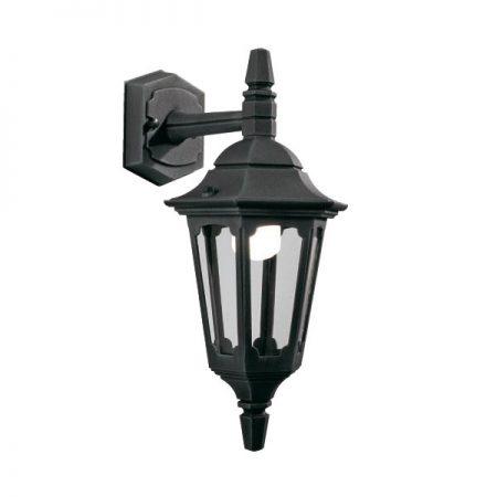 Elstead Parish Mini 1 Light Downward Outdoor Wall Lantern Black