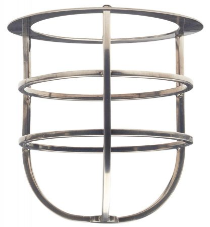 Elstead Shade Cage Accessory Sheldon Antique Nickel Solid Brass