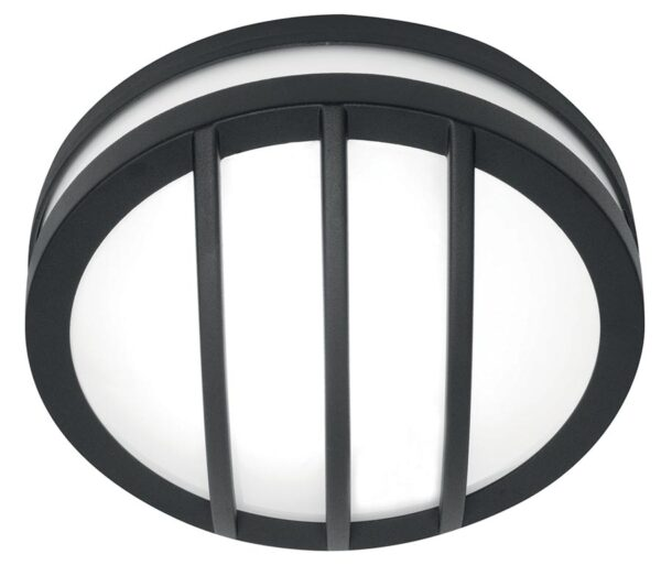 Elstead Sven 1 Light Outdoor Wall / Porch Ceiling Lantern Graphite