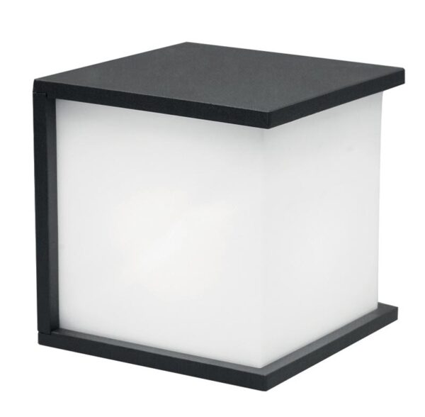 Elstead Torsten 1 Light Square Outdoor Wall Light Graphite