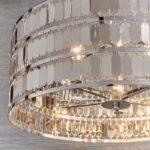 Endon Eldora 5 Lamp Modern Pendant Ceiling Light Chrome