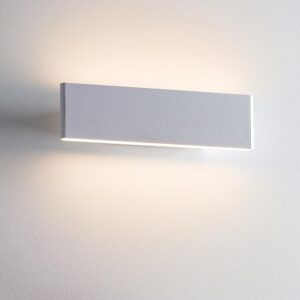 Endon Bodhi Dimmable LED 285mm Architectural Wall Light Matt White