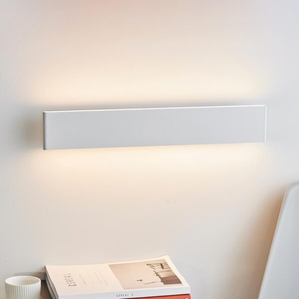 Endon Bodhi Dimmable LED 485mm Architectural Wall Light Matt White