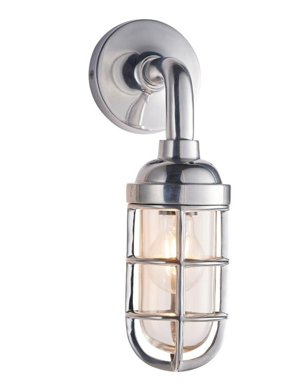 Endon Elcot Industrial Style Cast Aluminium 1 Lamp Quality Wall Light
