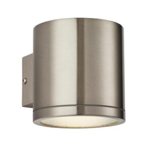 Endon Nio Modern LED 316 Stainless Steel Outdoor Wall Down Light IP44