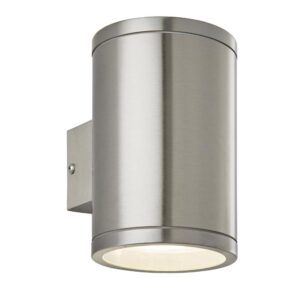Endon Nio Modern LED 316 Stainless Steel Outdoor Wall Up & Down Light IP44