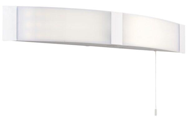 Endon Onan LED Bathroom Mirror Light Shaver Socket Switch White