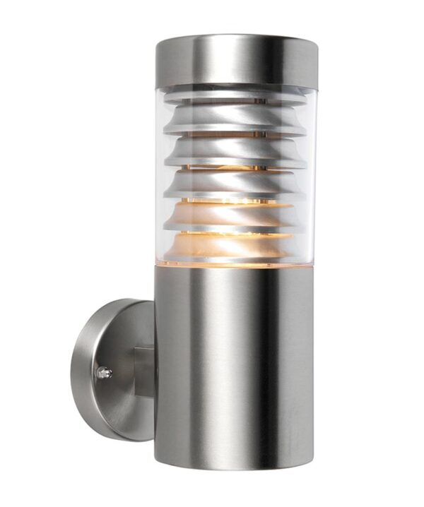 Eaves Louvered 1 Lamp 316 Stainless Steel Outdoor Wall Light IP44