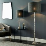 Endon Rion Sculpted 1 Light Floor Lamp Base Only Cast Aluminium