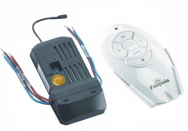 Fantasia Remote Control Kit Fan Speed LED Light Kompact Fan Only