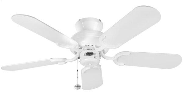 Fantasia Capri 36″ Ceiling Fan Without Light Kit Gloss White
