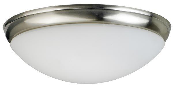 Fantasia Aries Domed Fan Light Kit Brushed Nickel