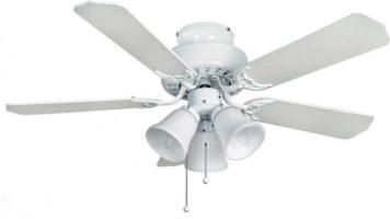 Fantasia Belaire Combi 42″ Ceiling Fan Light Kit Gloss White