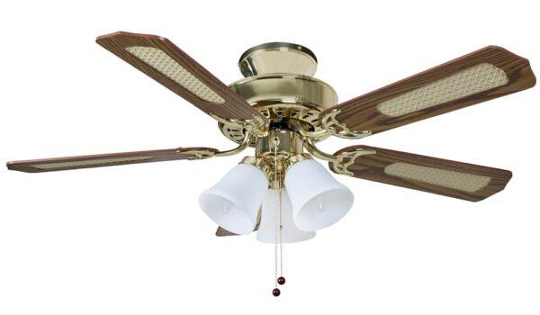 Fantasia Belaire Combi 42 Quot Ceiling Fan Light Kit Polished