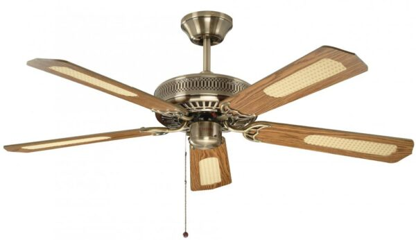 Fantasia Classic 52″ Ceiling Fan Without Light Antique Brass
