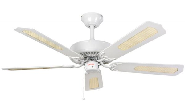Fantasia Classic 52″ Ceiling Fan Without Light Matt White