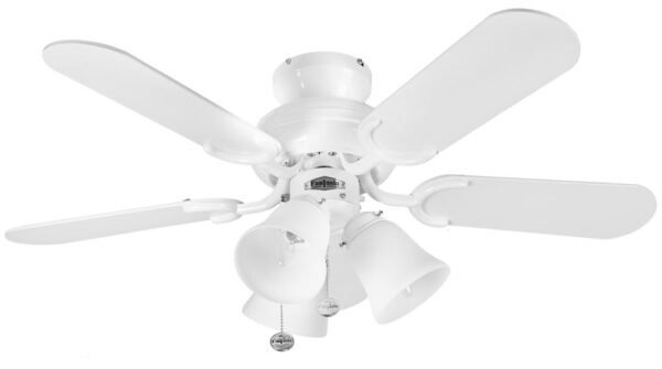 Fantasia Capri Combi 36″ Ceiling Fan Light Kit Gloss White