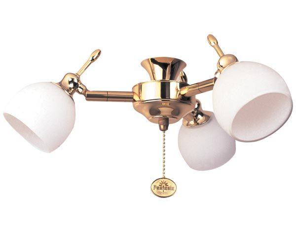 Florence Polished Brass Fantasia Fan Light Kit