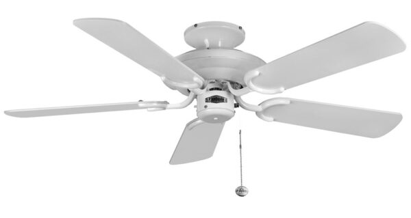 Fantasia Mayfair 42″ Ceiling Fan Without Light Gloss White