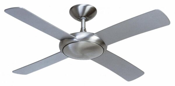 Fantasia Orion 44″ Remote Ceiling Fan Brushed Aluminium