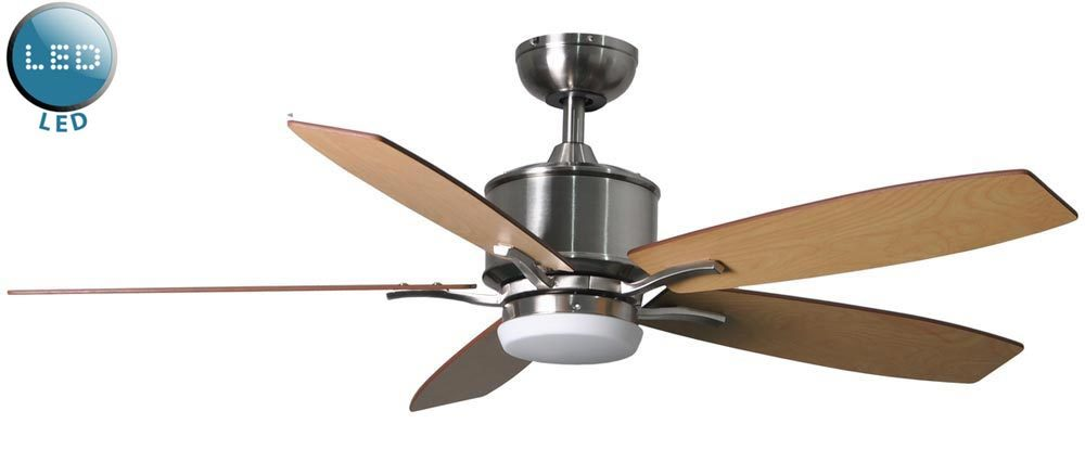 Prima 52 remote control ceiling fan led light brushed nickel 117179 prima 52 remote control ceiling fan led light brushed nickel aloadofball Gallery