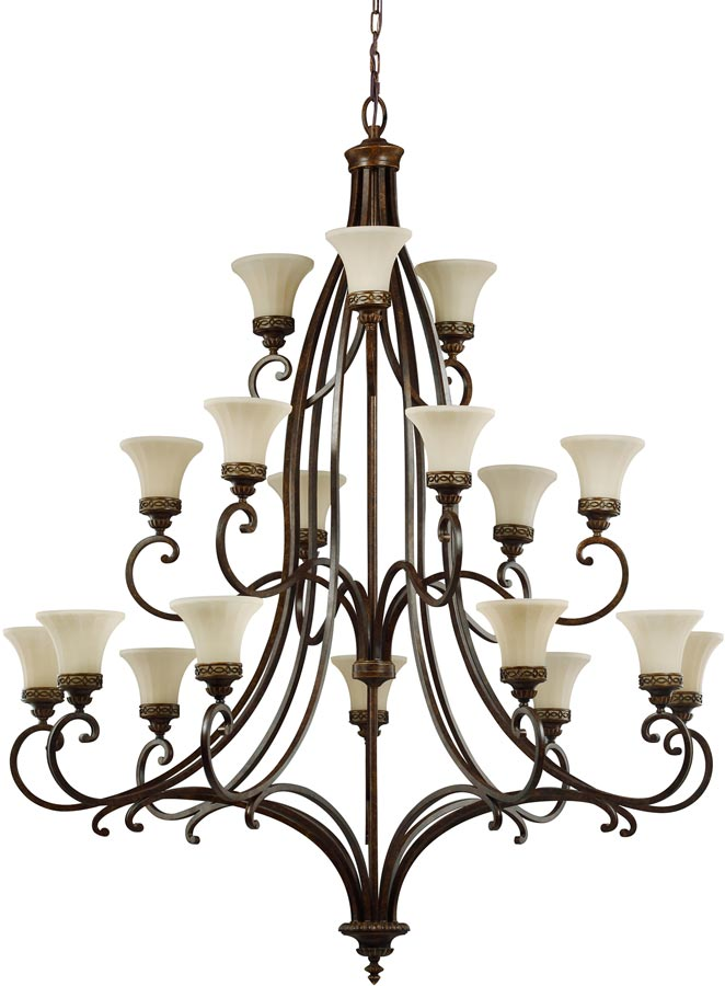 Edwardian Drawing Room: Feiss Drawing Room Extra Large 18 Light 3 Tier Chandelier