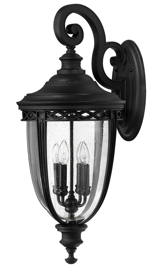 Light Extra Large Outdoor Wall Lantern, Large Black Outdoor Wall Lighting