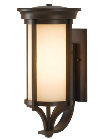 Feiss Merrill 1 Light Medium Outdoor Wall Lantern Heritage Bronze