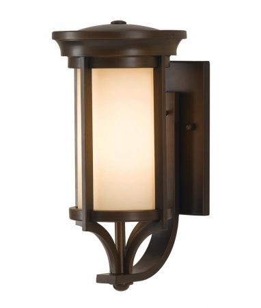 Feiss Merrill 1 Light Small Outdoor Wall Lantern Heritage Bronze