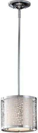 Feiss Joplin Height Adjustable 1 Light Mini Pendant Polished Chrome