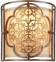 Feiss Marcella Designer Fret Laced 1 Lamp Flush Wall Light