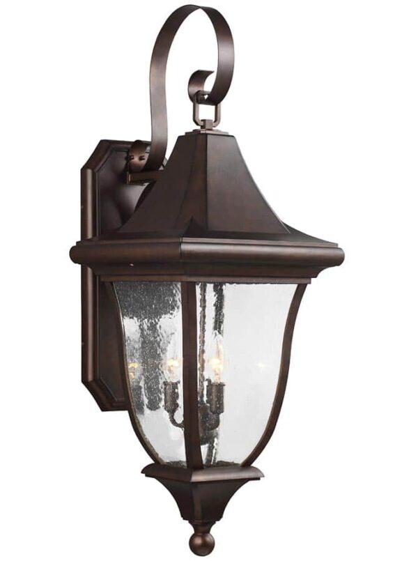 Feiss FE/OAKMONT2/L Oakmont 3 light large outdoor wall lantern