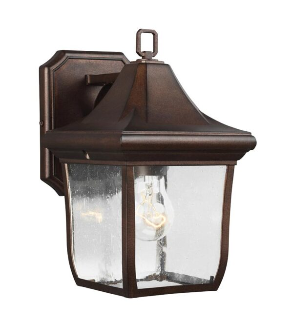 Feiss FE/OAKMONT2/S Oakmont 1 light small outdoor wall lantern