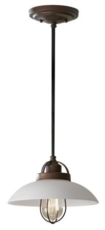 Feiss Principal Period Pendant Urban School House Style