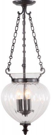 Elstead Finsbury Park Medium Old Bronze 3 Light Hanging Lantern