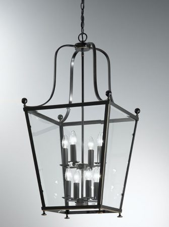 Franklite Atrio Large 8 Light Antique Bronze Hanging Lantern