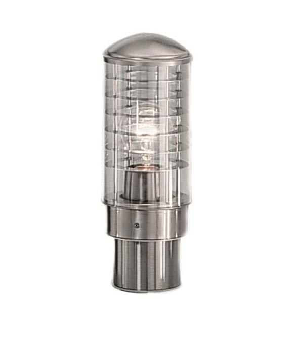 Modern Marine Grade 316 Stainless Steel Outdoor Pedestal Light IP44