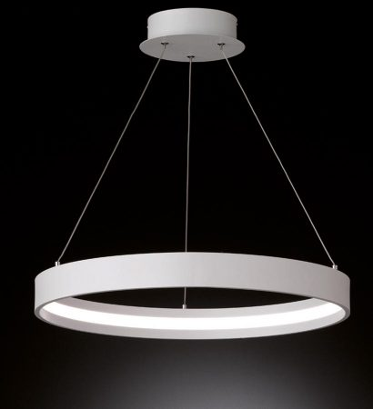 Franklite Hollo 30w Dimmable LED Ceiling Pendant Ivory Finish