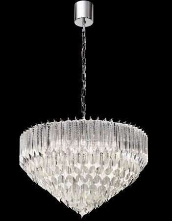 Franklite Valentina 6 Light Italian Crystal Pendant Ceiling Light