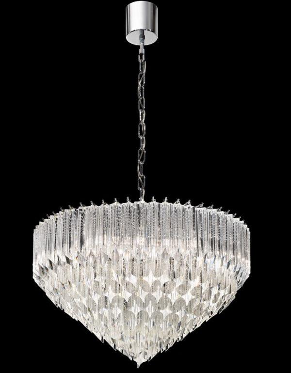 Franklite FL2266/6 Valentina 6 light Italian crystal pendant ceiling light