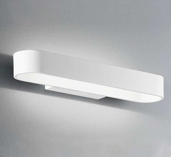Contemporary 12w LED Small Up & Down Bright Wall Washer Light White